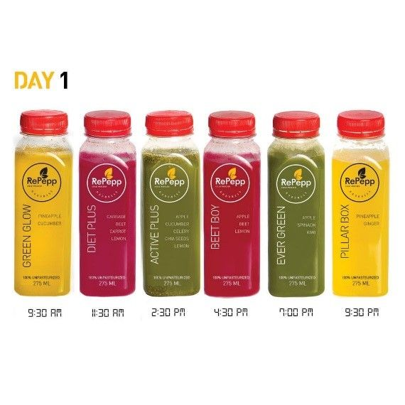 RePepp - Cold Pressed Juice
