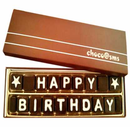 Sms Chocolates 2 Liner - Best Wishes