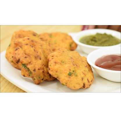 Dal Vada Without Onion