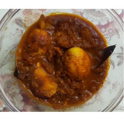 Dimer Dalna/ Bengali Style Egg Curry