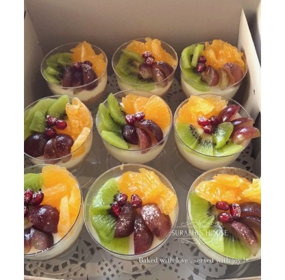 Yogurt Fruit Mousse Cup
