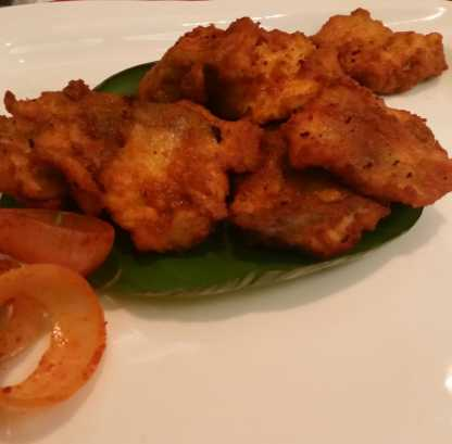 Amritsari Fish Pakora With Chutney