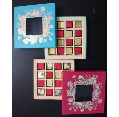 Assorted Chocolate Floral Gift Box