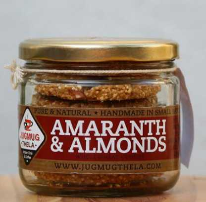 Amarnath & Almonds Cookie