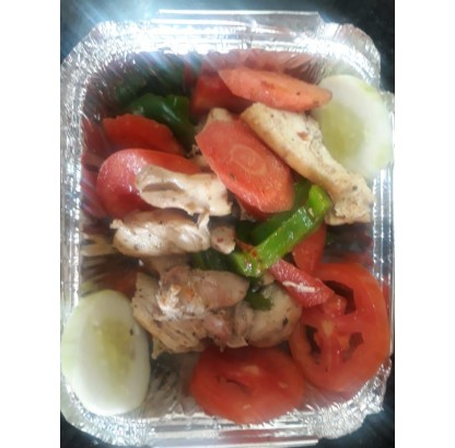 Boiled Chicken Salad