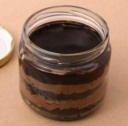 Chocolate Jar Cake