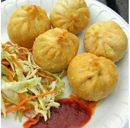 Fried Veg Momos