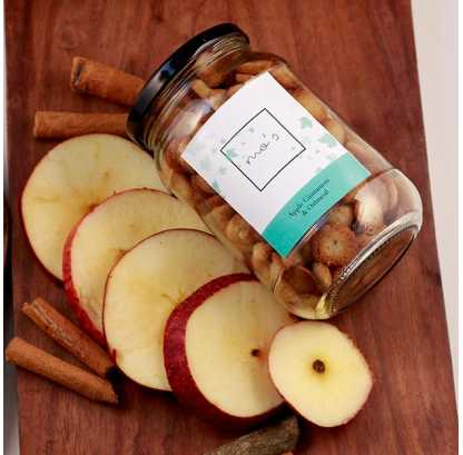 Apple Cinnamon Cookies Medium Jar