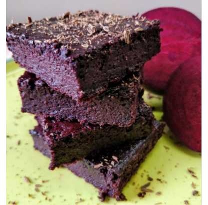 Wholegrain Beetroot Brownie