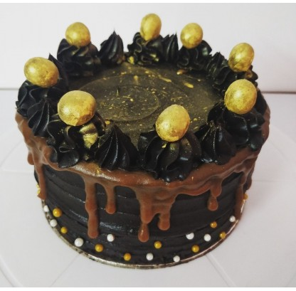 New Year's Special Chocolate Cake