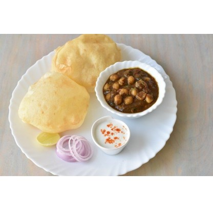 Chole Bhatura (needs 24 Hrs Prior In Advance)