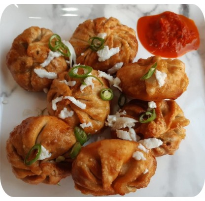 Cottage Cheese Momos (steamed / Fried)